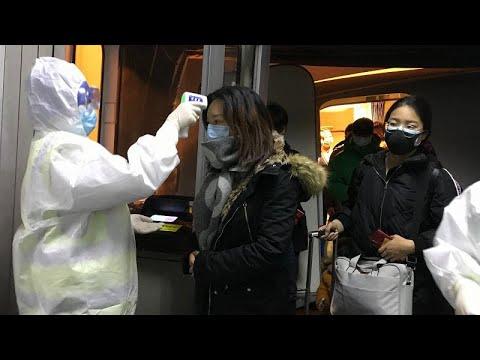 Город Ухань в Китае закрыли из-за вируса