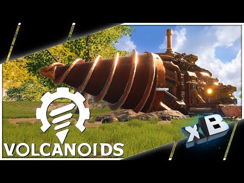 Steampunk Drillship Survival! :: Volcanoids Pre-Alpha Gameplay