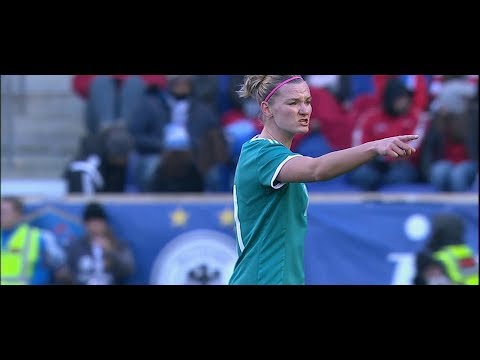 (1) Germany vs England 3.4.2018 / SheBelieves Cup 2018