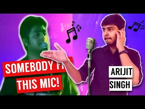 Somebody FIX this Mic 🤪🎤 Arijit Singh Got Angry
