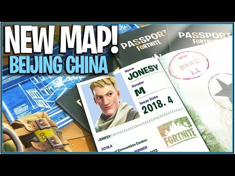 Fortnite: SEASON 4 NEW MAP SET IN BEIJING, CHINA! | (Meteoroid Creates New City 4/23)