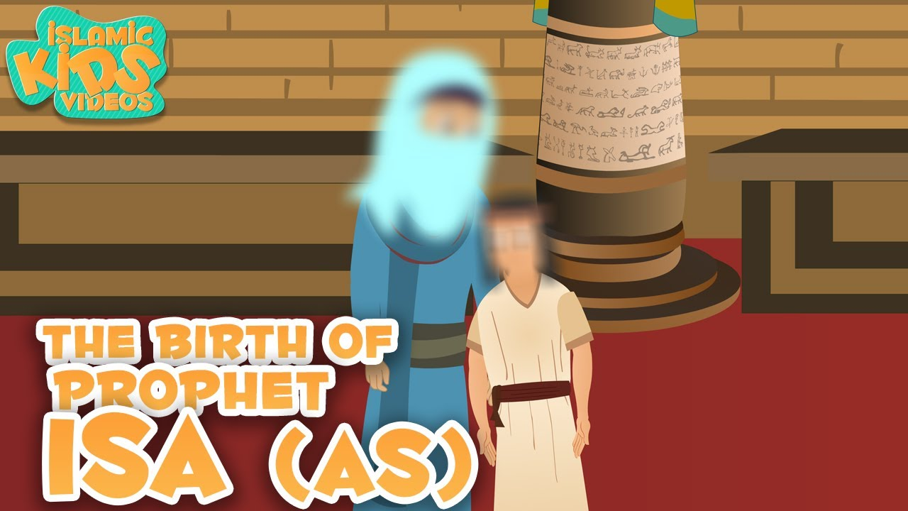 Prophet Stories for Kids in English | Prophet Isa (AS) Story | Islamic Kids  Stories With Subtitles