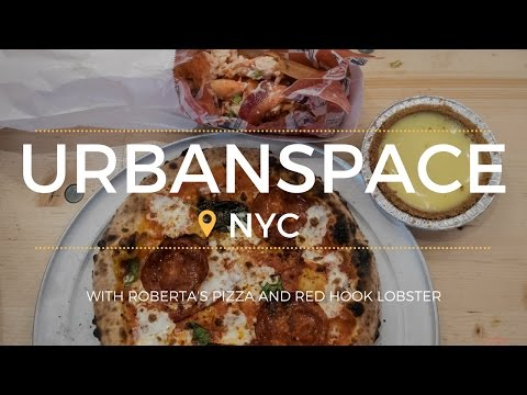 Foodie Delight at Urbanspace in NYC