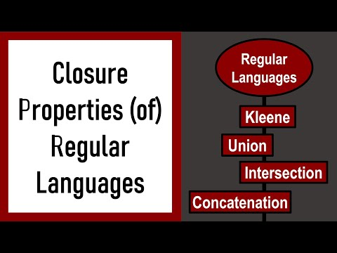 Automata Theory - Lecture 3 - Closure Properties of Regular Languages