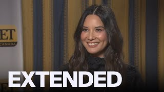 Olivia Munn Talks 'The Rook,' Reveals She Will Not Be In 'Dark Pheonix' | EXTENDED