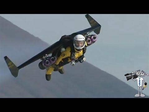 'Jetman' Uçan Adam Fuji Dağı Etrafında Uçtu