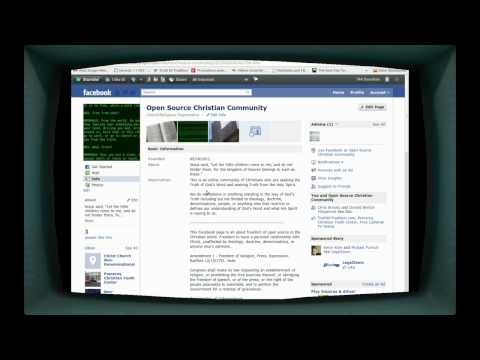 Open Source Christian Community on Facebook