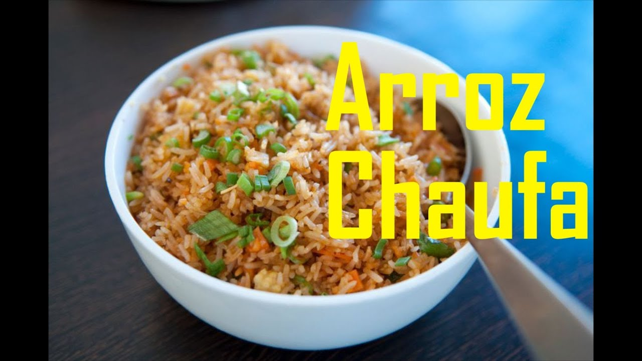 Arroz integral estilo chino chaufa youtube for Como se prepara el arroz