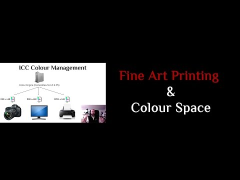 Learn Colour Space & Fine Art Printing