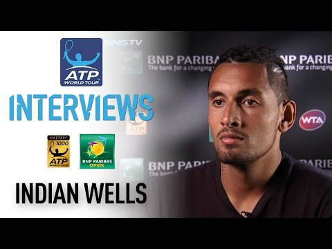 Confident Kyrgios Expects Federer Test At Indian Wells 2017