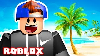 GOING ON A ROBLOX VACATION!   Roblox Vacation (Camping Game)