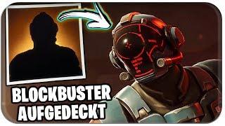 BLOCKBUSTER SKIN UNIDENTIFIED + GEHEIMER STERN ⭐ | Fortnite Season 4 Week 7 German