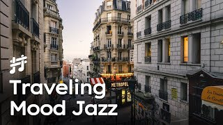 Traveling Mood Jazz - Relaxing Jazz playing on the Alley & Quarantine Music