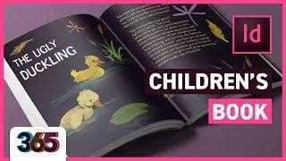 Children's Book | Photoshop/InDesign CC Tutorial #37/365 Days of Creativity