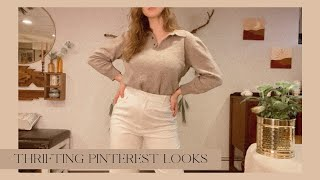 Thrifting Pinterest Looks