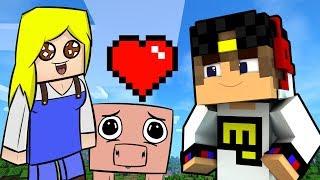 Как подружиться с девушкой Майнкрафт 2017 выживание в Minecraft для детей мультик игра и Дети