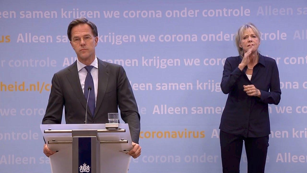 Persconferentie 19 Mei 2020: Premier Rutte En Minister De