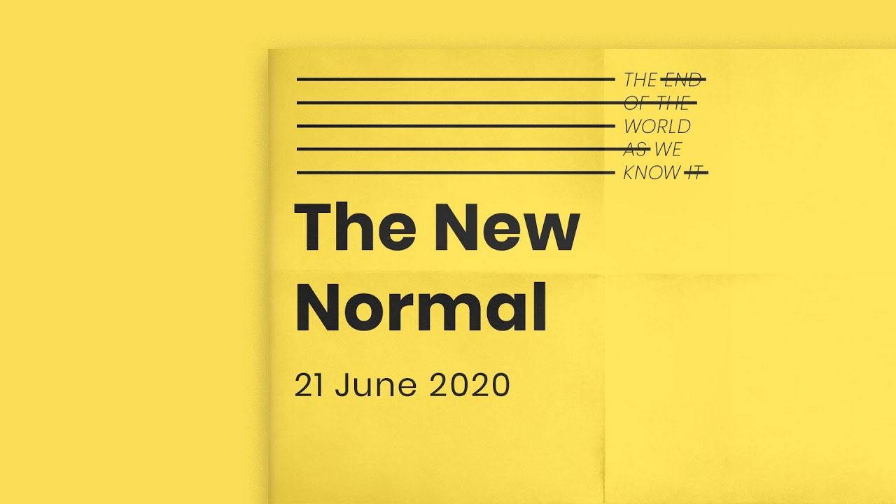 The end of the world as we know it // The New Normal Cover Image