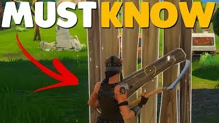 10 NEED TO KNOW Building Tips In Fortnite Battle Royale