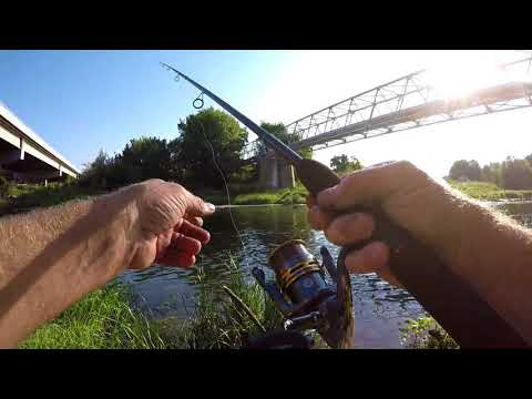 Fishing With The Pflueger President Spinning Reel