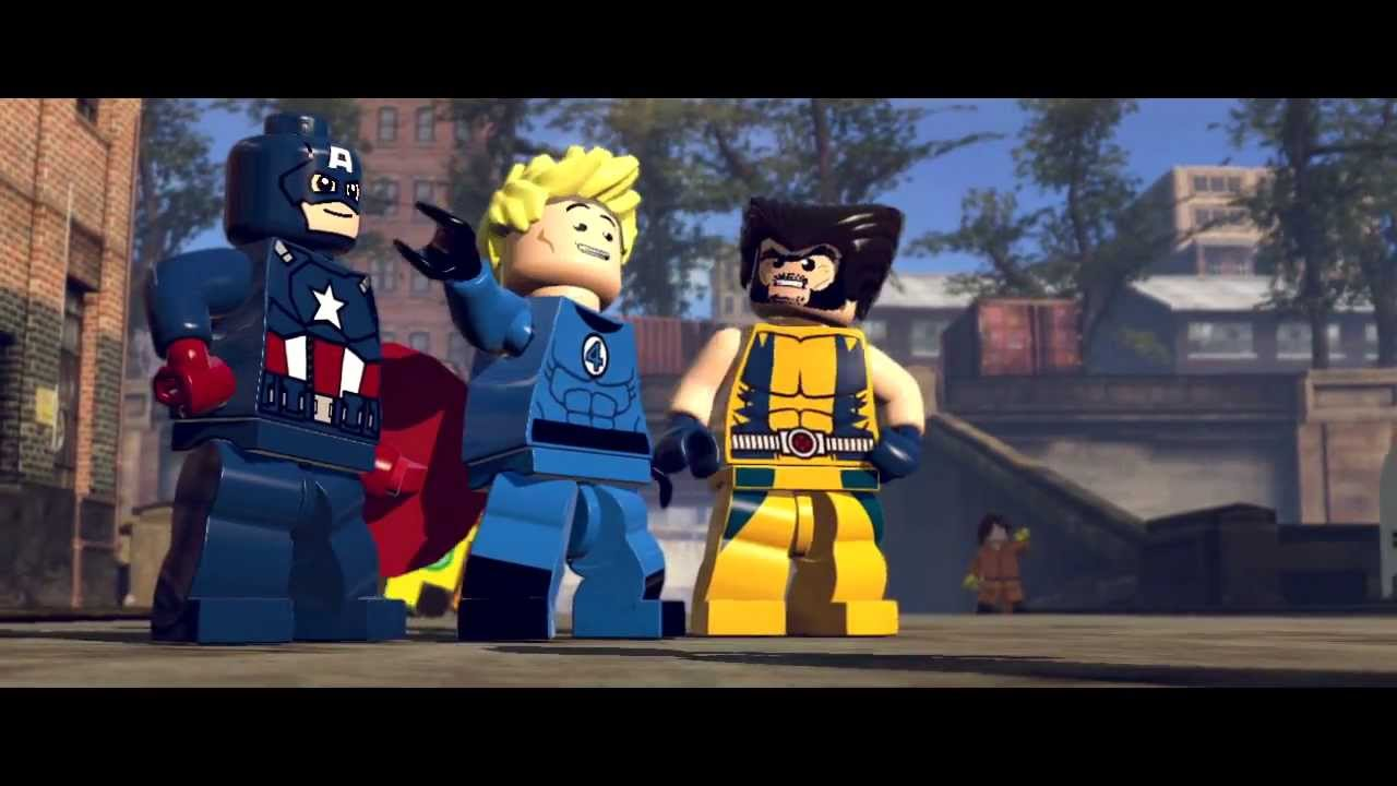 Lego Marvel Super Heroes E3 Trailer Youtube