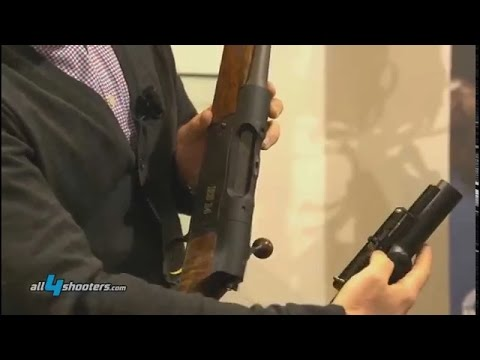 Strasser RS14 hunting carbine at HIT Show 2015