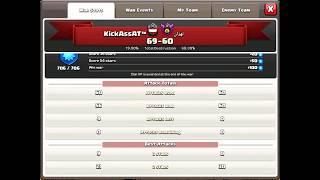 Clanwar KickAssAt™ vs Iran Clan - 3 Star Attacks - Clash of Clans