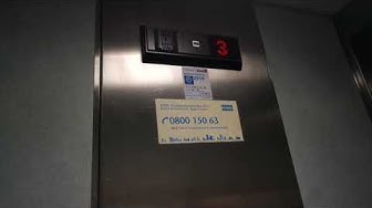 Kone roped hydraulic elevator/lift in Hotel Pietari Kylliäinen, Savonlinna