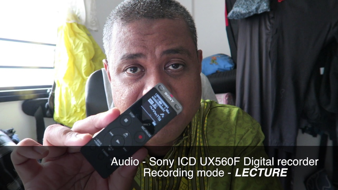 Q&A - Sony ICD UX560F digital audio recorder