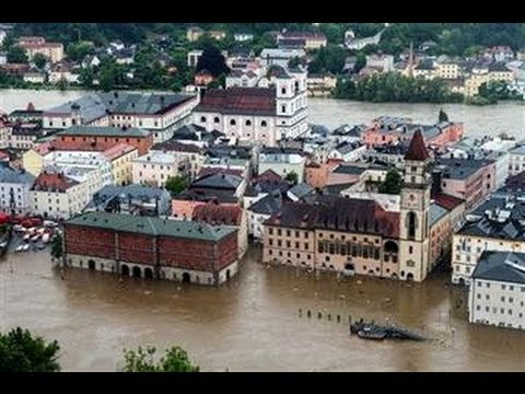 Worst FLOODS!! of ALL TIME Ravage EUROPE 23 Dead - Germany Austria Switz Czech Hungary...6.11.13