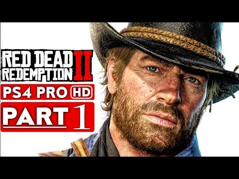 RED DEAD REDEMPTION 2 Gameplay Walkthrough Part 1 [1080p HD PS4 PRO] - No Commentary
