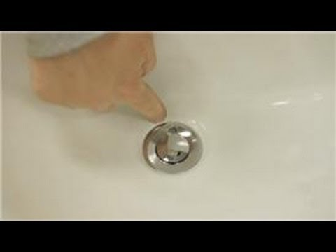 Sink maintenance how do i remove a sink pop up drain - How to clean bathroom sink drain ...