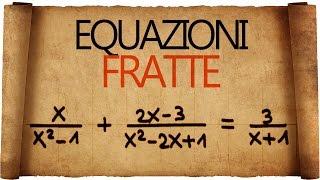 Equazioni Fratte