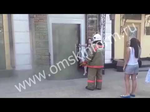 Пожар на ул. Ленина
