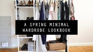 Spring Minimal Wardrobe Lookbook | Mademoiselle