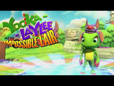 Yooka-Laylee and the Impossible Lair is a side-scrolling spin-off