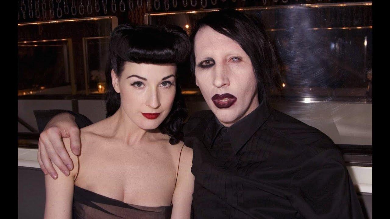 Marilyn Manson Wife Dita Von Teese