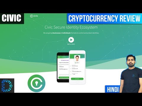 Civic (CVC) - Review & Future Prediction - Securing Digital Identity On Blockchain - [Hindi/Urdu]