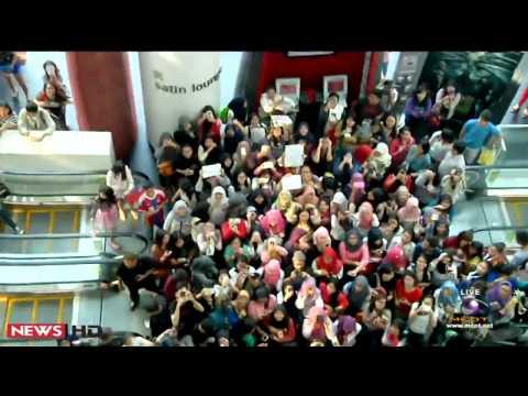 """""""เก้า จิรายุ"""" เปิดตัวหนัง ตุ๊กแกรักแป้งมาก ที่อินโดนีเซีย"""