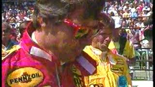 Auto Racing   1987   ABC Sports Indy 500 Special Feature   Arch Bishop Edward T Omeara Provides The