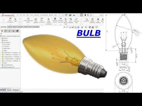 Solidworks tutorial Bulb