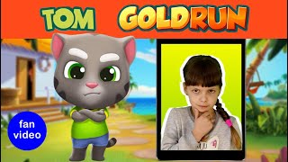 Talking Tom Gold Run in Real Life and Other Adventures| Kids Skit