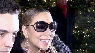Diva Mariah Carey arriving in her Plaza Athenee Paris hotel