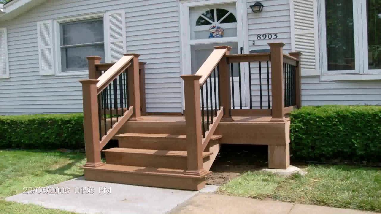 Small Deck Ideas For Mobile Homes See Description See Description Youtube