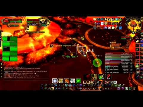 The Burning Legion vs Ragnaros 10HC(Molten WOW, realm Neltharion) Realm First