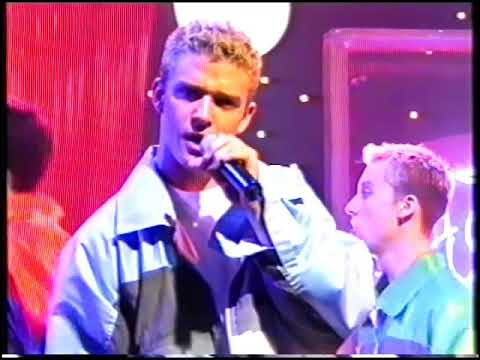 NSync Blue Peter 1997 UK Tearing up my heart & Interview