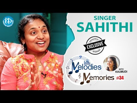 Singer Sahithi Exclusive Interview || Melodies & Memories #34