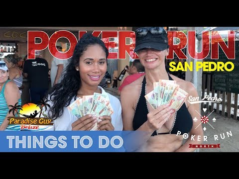 Poker Run: Monthly Pub Crawl In Ambergris Caye, Belize