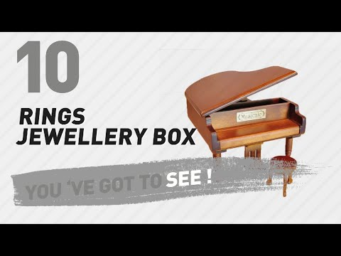 Rings Jewellery Box Top 10 Collection // UK New & Popular 2017