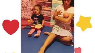 hija de Jazmín Pinedo causa ternura al cantar junto a su mamá